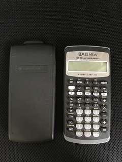 BA II Plus Texas Instrument Financial Calculator