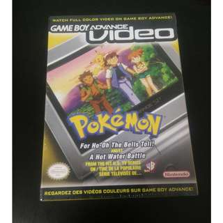 Nintendo GameBoy Advance Video Pokemon