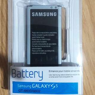 brand new 100% Original Samsung s5 battery