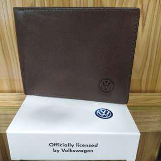 Volkswagen genuine leather men wallet(vww078-2 DKHAKIS VWW077-2 DKHAKIS VWW078-1BROWN VWW-077-1 BROWN)