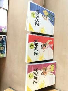 Zumba dvds 3