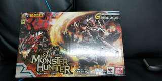 monster hunter 超合金 雄火龍