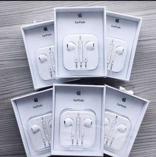 "Authentic Apple earpods with box and manual ""Guaranteed Legit"" Order now LOWEST PRICE IN THE MARKET!"