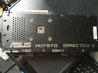 Asus HD7970 display card
