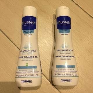 Mustela Gentle Cleansing Gel 200ml x 2
