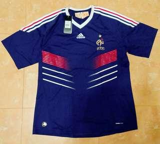 (正版)2010年FIFA世界盃-法國國家隊主場球衣