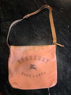 Burberry Blue Label Bag from Japan (able to keep a laptop inside)