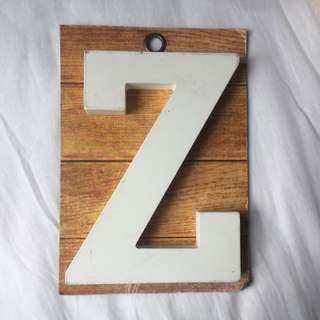Letter Z Display / Home decor