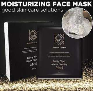 Beauty Player Extremely Transparent Cleansing Mask/Taiwan Mask