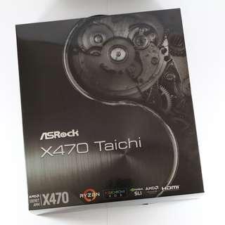 全新 華擎 ASRock X470 Taichi太極 ATX/1H/I網/ac+BT4
