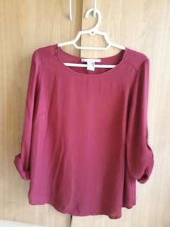 Forever 21 loose long sleeve top