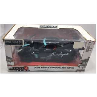 JDM Tuners 1:24 scale 2009 Nissan GTR (R35) Ben Sopra Black Metal Diecast Car # 99214 by Jada Toys