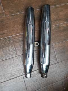 Harley davidson sportster exhaust pipe