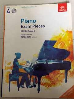 Piano Exam Pieces Abrsm Gr4