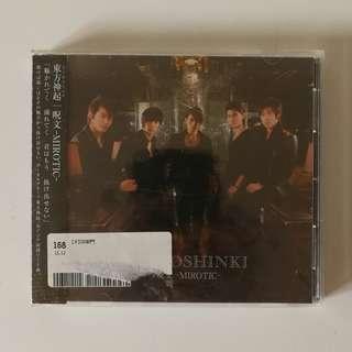 TVXQ DBSK Mirotic Japanese Single CD Album Official