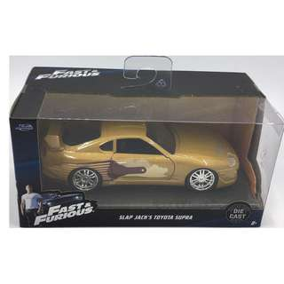 Fast & Furious 1:24 scale Slap Jack's Toyota Supra by Jada Toys