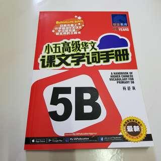 🚚 P5B Handbook for Higher Chinese Vocab