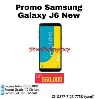 Promo Samsung Galaxy J6 New