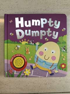 Board Book Humpty Dumpty