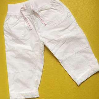 Mothercare White Pants