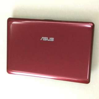 "Very New Red Asus Laptop English   10.1"" N455 250GB Microsoft office Words Excel power point... (Video Chat, Facebook Messenger, Skype...) Huge 7 hour Battery with Charger 要中文版通知轉回中文"