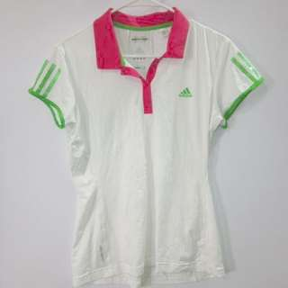 --reserved-- (L) adidas womens barricade cap polo in almost looks new conditions