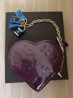 Louis Vuitton 紫色coins bag(new)