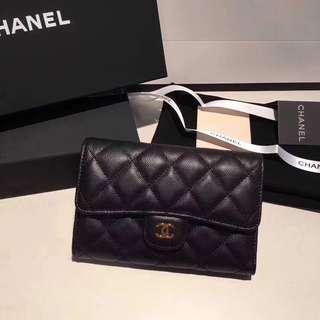Chanel 💁🏻 CF第一款中長款銀包 size:15cm