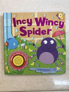Board Book Incy Wincy Spider