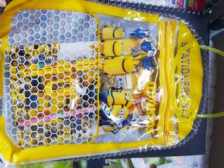 Minions stationery set!