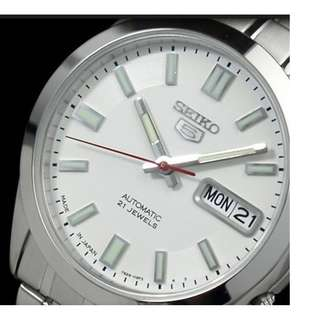 Japan Made Seiko 5 Men's Automatic Day Date Watch SNKE79J1