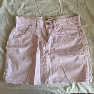 Pastel Denim Skirt