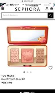 Too Faced Sweet Peach Glow