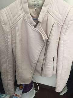 Jaket kulit zara original
