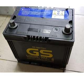 (二手中古電池) GS GTH55DL(55D23L)-免保養汽車電池 數值漂亮,品項優