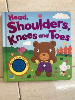 Board Book Head, Shoulders, Knees and Toes