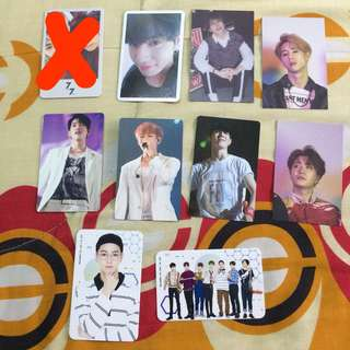 Kpop Photocards Clearance