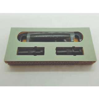 Gotoh Tune-o-matic Titanium Bridge + Gotoh Zinc 'Stop' Tailpiece - Black