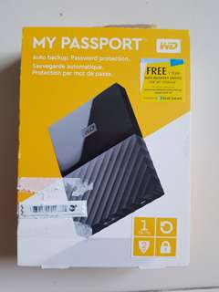 WD My Passport Portable Hard Disk