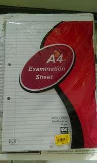 Test pad A4