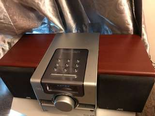 DVD/CD player with radio and speakers