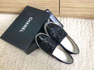 Chanel Espadrilles slip on shoes 漁夫鞋草鞋