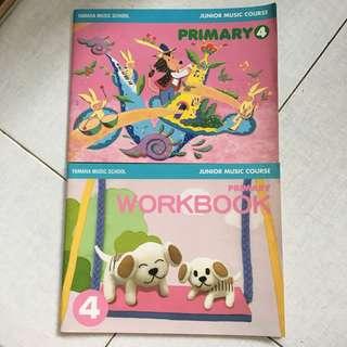 Yamaha JMC Primary 4 Textbook and Workbooks