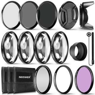 1368. Neewer® 72MM Complete Lens Filter Accessory Kit for Lenses