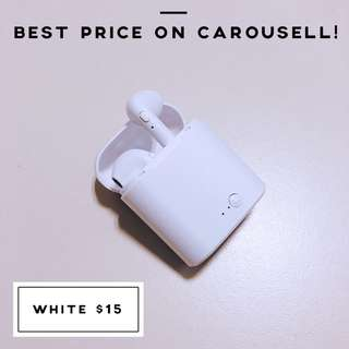 🚚 [White] TWS i7S Wireless Pods
