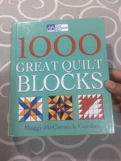 1000 Great Quilt Blocks