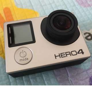 Go Pro Hero 4 Silver good as brand new no scratches