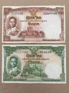 Old Thai Baht