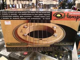 Sound hole amp