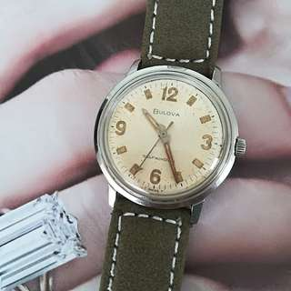 Bulova Swiss Vintage watch. Self winding mechanical watch